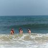 Greg Reid Bill JP in the ocean at OBX