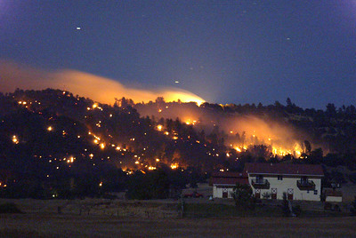 Humboldt Fire Night