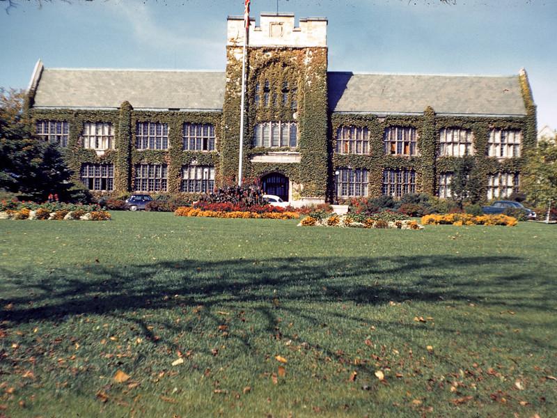 Albert College 1953 or 1954
