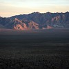 Spring Mountains, viewed from west of Las Vegas, NV