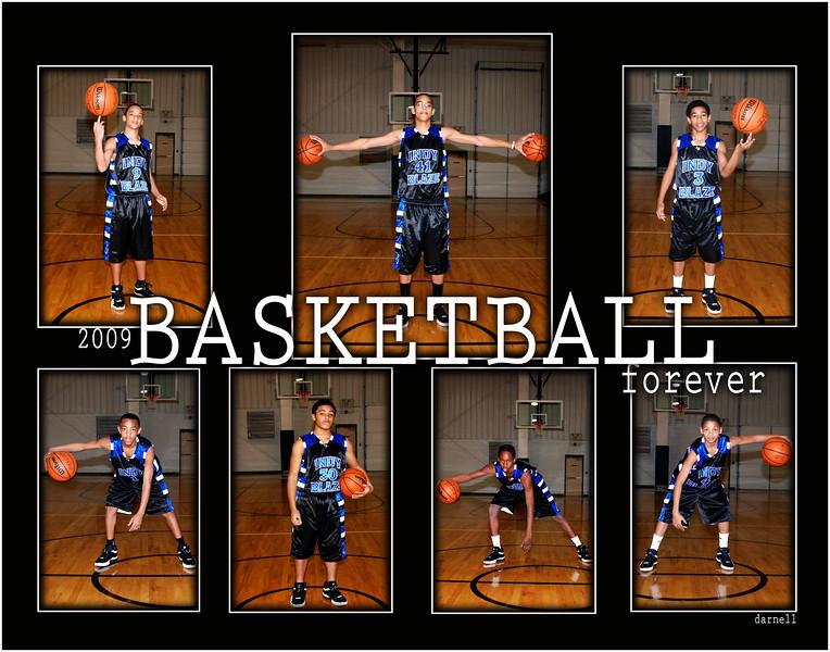 basketball 2009 11x14