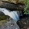 Disappearing Waterfall above Big Falls