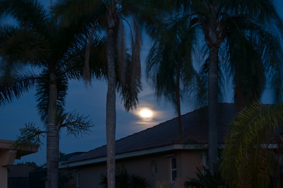 Super moon over Cape Coral