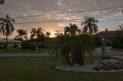 Sunrise in Cape Coral
