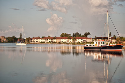Early morning on Bimini Basin, Cape Coral