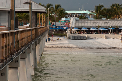 The pier at Ft Myers Beach