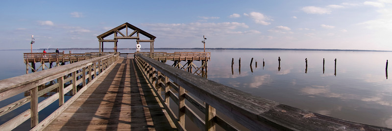 Fishing Pier at Leesylvania State Park
