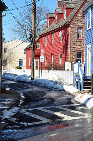 A quaint little side street - so New Englandesque!