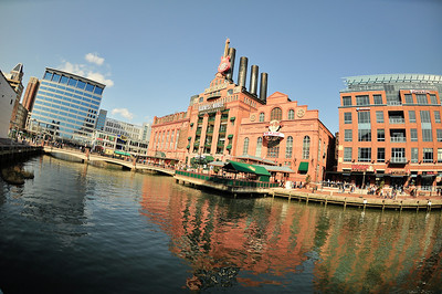 Baltimore's Inner Harbor is just a feast for the senses