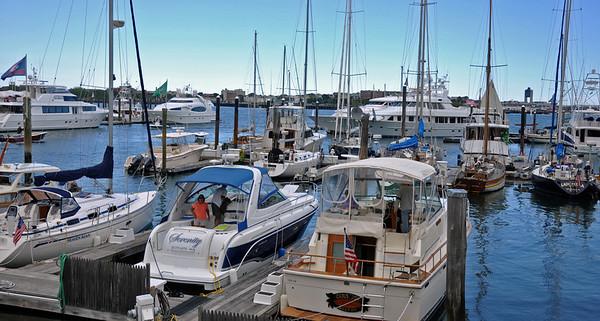 Beautiful Boston Harbor