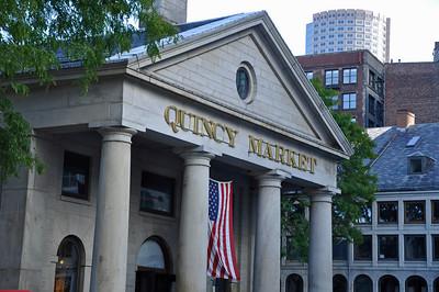 Quincy Market in September