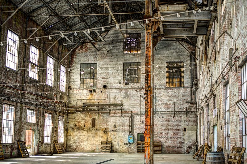 Inside The Old Sugar Mill