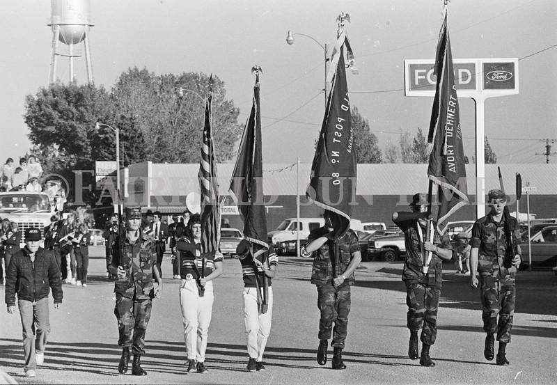 1975 10 09 FFT41 Homecoming Royalty and Parade (13)