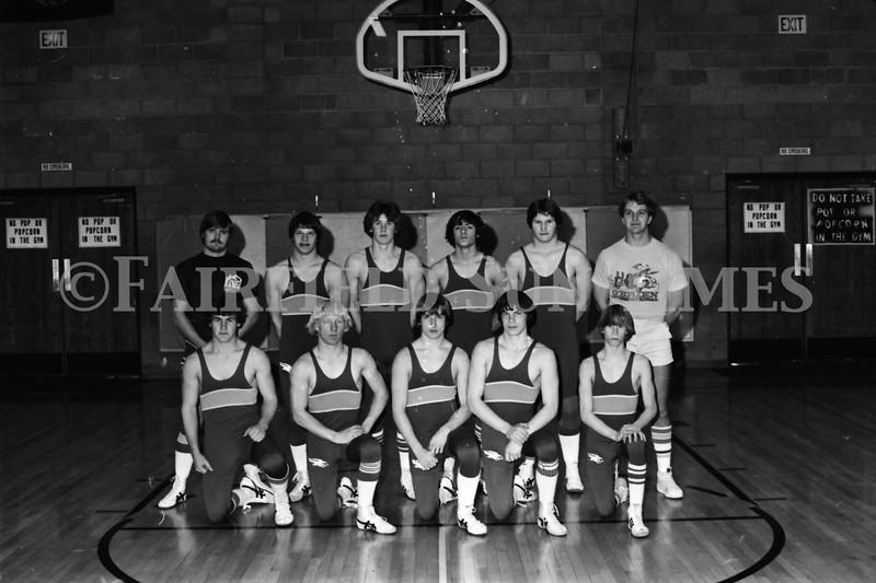 1979-80 Fairfield Wrestlers_Hoke & Bart McDermott_Bill Hicks_Glenn Young_Bob Stewart_Ron Merrill0001