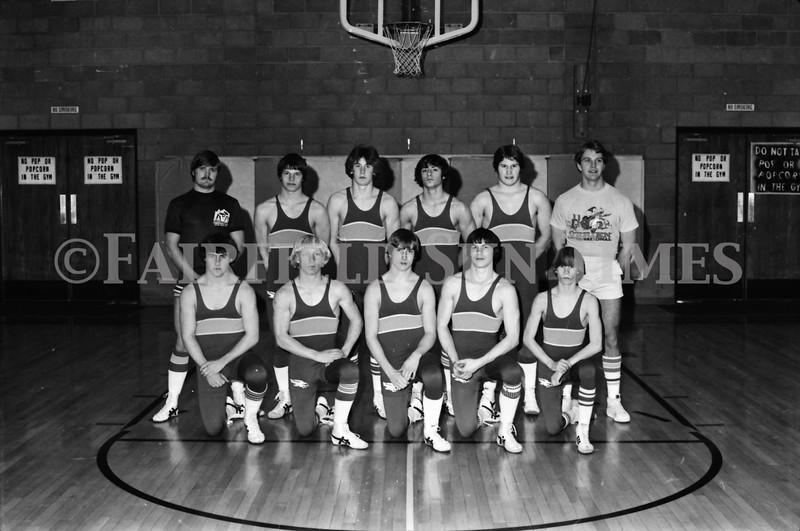 1979-80 Fairfield Wrestlers_Hoke & Bart McDermott_Bill Hicks_Glenn Young_Bob Stewart_Ron Merrill0002