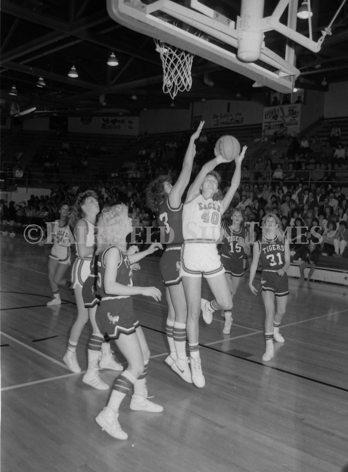 1985 11 20 FFT#47 Girls Northern B Tourney in Shelby, Fairfield vs Simms, Cut Bank_0018