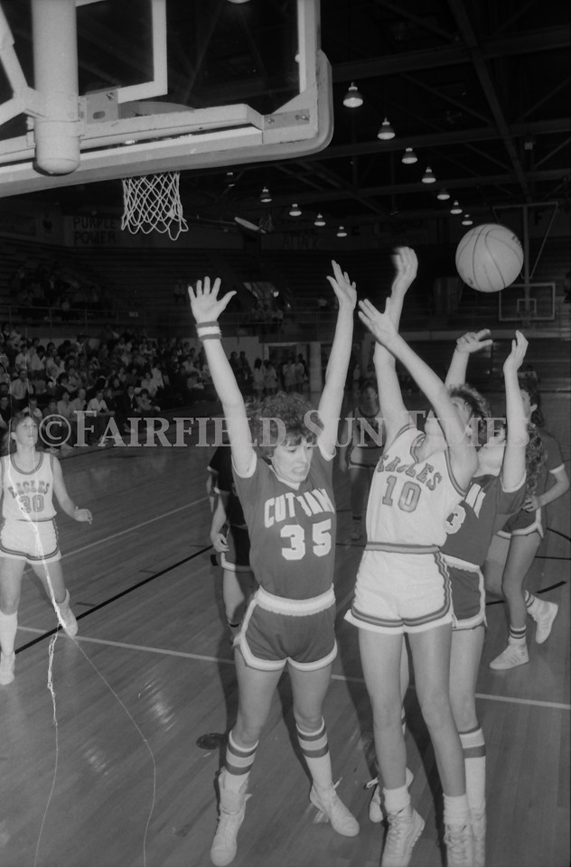 1985 11 20 FFT#47 Girls Northern B Tourney in Shelby, Fairfield vs Simms, Cut Bank_0032