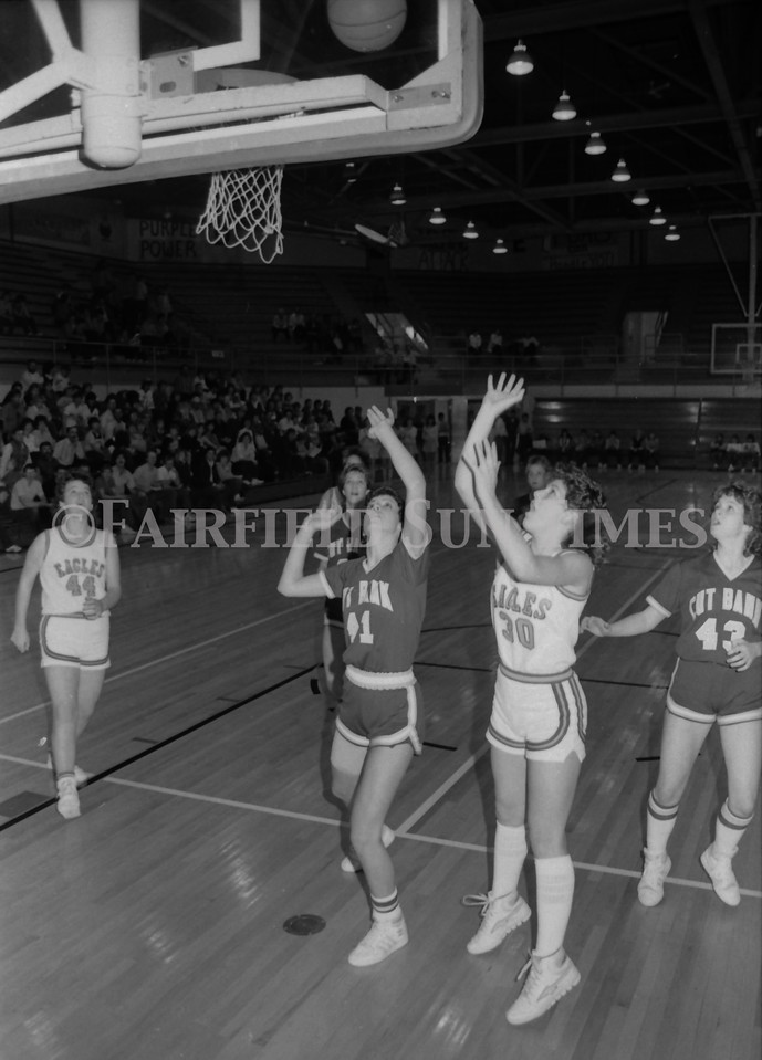1985 11 20 FFT#47 Girls Northern B Tourney in Shelby, Fairfield vs Simms, Cut Bank_0030