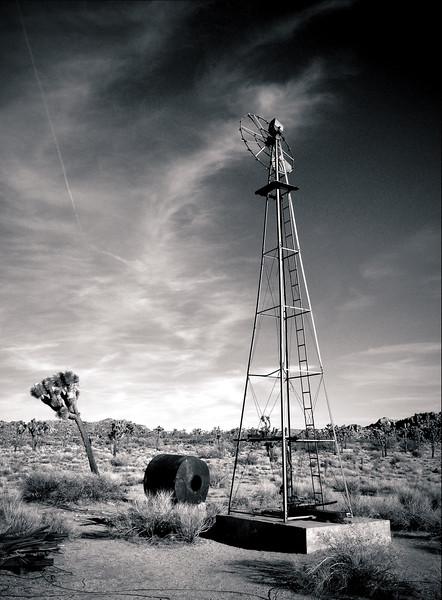 Old Windmill, Joshua Tree