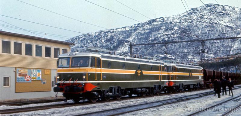 NSB El15 Narvik C Maiden Voyage unknown date by Trygve Romsloe sen.