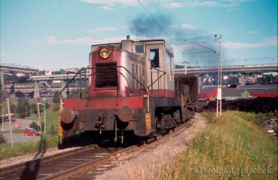 """LKAB Porter diesel """"Forbindelsen"""" Narvik Ore Harbour"""