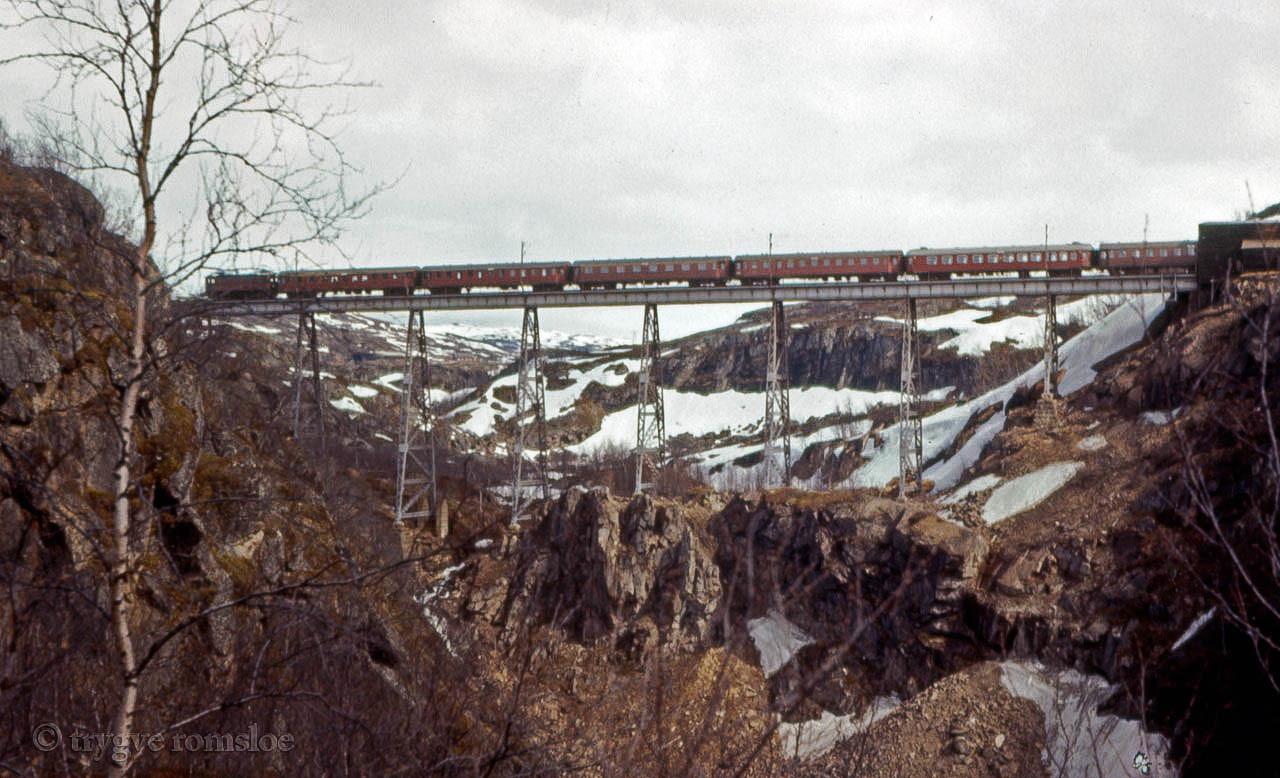 SJ Da Nordal bridge 1960's by Trygve Romsloe sen.