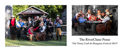"A Group Photo Mix with The RiverChase Posse playing a game of cards with the Saloon Girls at their side.   The Card Game took place at the 13th Annual Ole Timey Craft & Bluegrass Festival in Estillfork, Alabama on September 27th thru the 29th of 2013. The Gunfight was performed by The Riverchase Posse ""An Old West Living History Re-Enactment Troop"".  Photography By: The Cajun, Lloyd R. Kenney III ©2013 All Rights Reserved. Email: lloydkenneyiii@gmail.com"