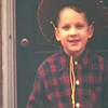 Christmas 1948 - Billy in his cowboy outfit with guns!