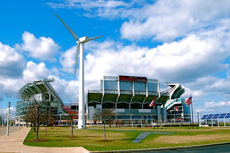 Cleveland Browns Football Stadium