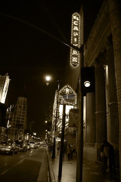 Hollywood Blvd. - El Capitan Theatre