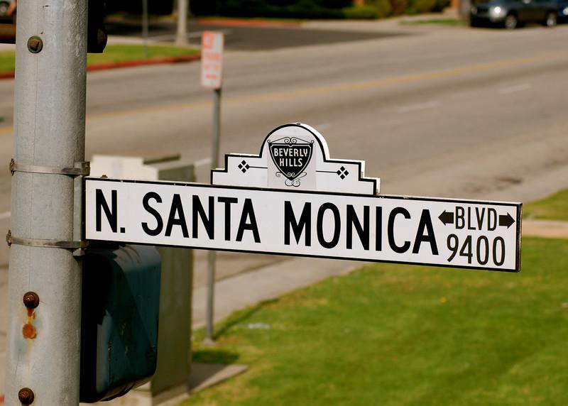 Santa Monica Blvd. - Beverly Hills