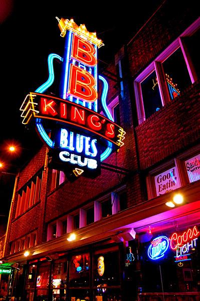 BB King's Blues Club- Beale Street