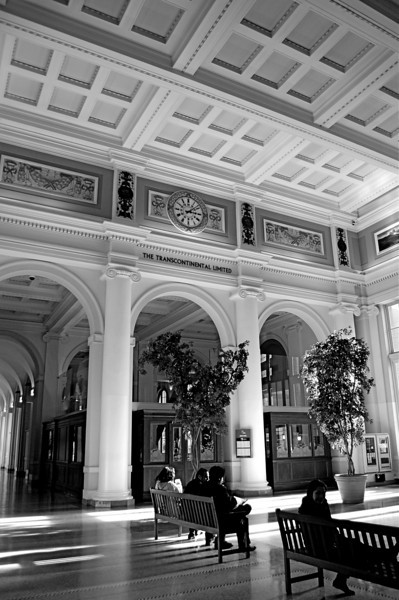 Inside the Canadian Pacific Railway Building