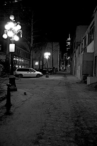 Blood Alley, Gastown- Vancouver, B.C.