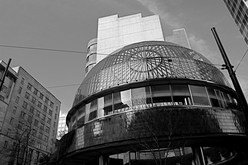 Glass Dome-Downtown, Vancouver, B.C.