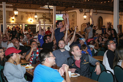 2018 FIFA World Cup Final at the Old World German Restaurant in Huntington Beach. France vs. Croatia.