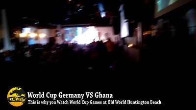 World Cup Germany vs Ghana Reaction to Germany Equalizer