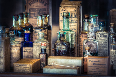 Ointments, Tonics and Potions