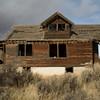 Weathered farm house.