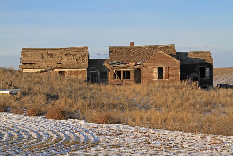 Forgotten farm house.