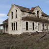 Neglected farm house