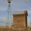 Windmill and well outbuilding