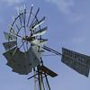 Shot up abandoned windmill.