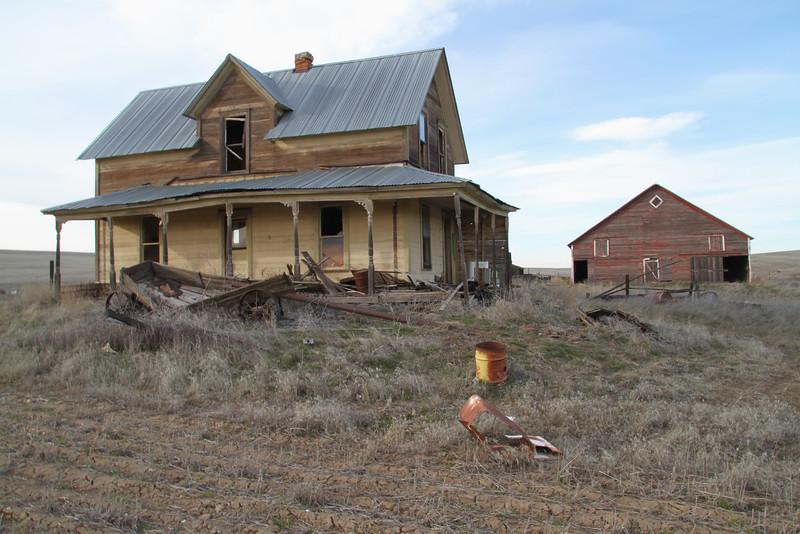 Forgotten 2 story farm house