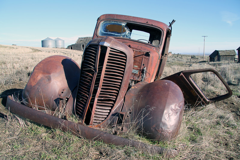 Dodge brothers truck remains