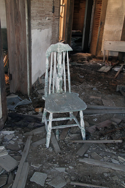 Chair left behind