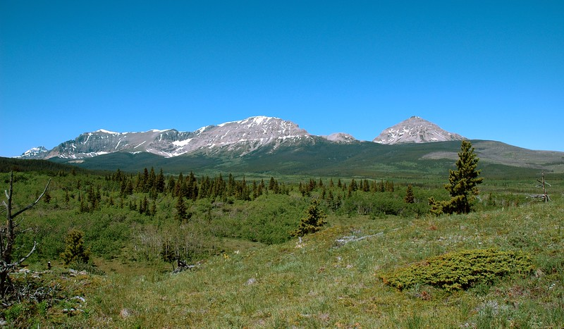Approaching GNP from the east.