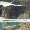 Mikey below Salamander Glacier.