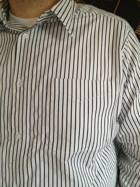 Pretty matching stripes.