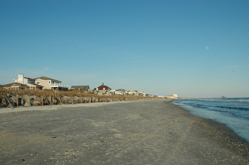 We had originally planned to spend a couple of days in Charleston. We ended up spending the week there. This is Folly Beach.